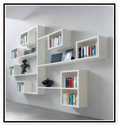 Designs Of Bookshelves On Wall Creative Wall Mounted Bookcase For More Interesting Decors