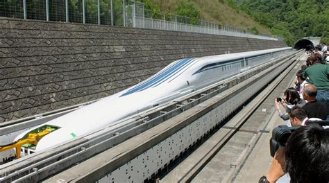 fast in japanese japan s maglev train is fast very fast gt engineering com
