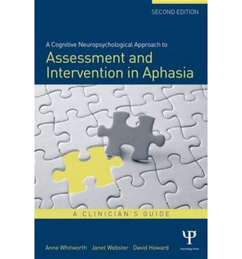 cognitive assessment for clinicians books a cognitive neuropsychological approach to assessment and