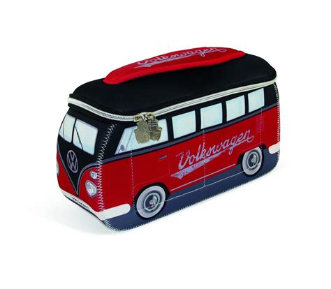 black volkswagen bus volkswagen bus neoprene universal lunch bag large red