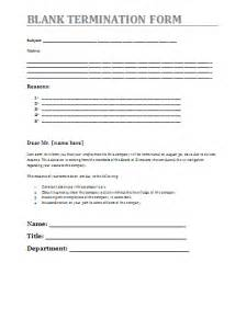 Termination Paperwork Template by Blank Termination Form A To Z Free Printable Sle Forms