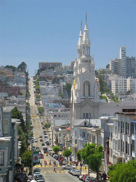 Attractive City View Church #4: 1200px-SF_Filbert_St_North_Beach_CA.jpg