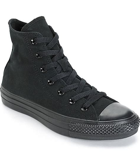 converse chuck all high top sneaker womens converse womens chuck all all black high top