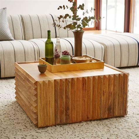 west elm carved wood table steven alan carved wood coffee table west elm