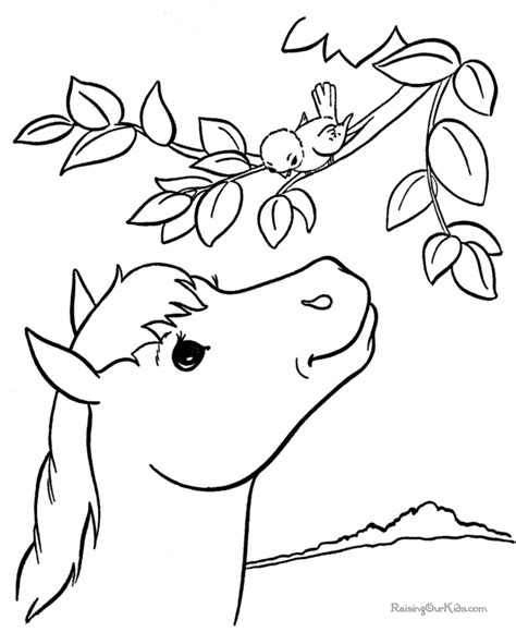educational horse coloring pages free printable horse coloring pages educational coloring