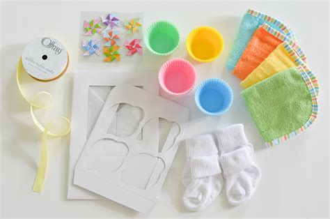 How To Make Baby Shower Cupcakes by Baby Washcloth Cupcakes Tutorial Project Nursery