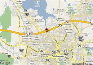 map of ramada inn and conference center tallahassee