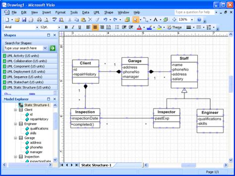 class diagrams in visio 1 here we a class diagram drew in visio