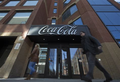 coca cola canada unveils  king street east headquarters toronto star