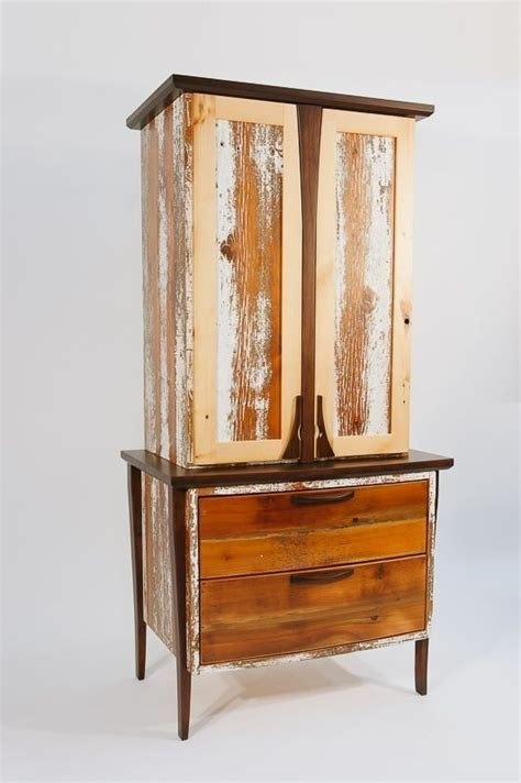 Cherry Linen Cabinet by Made Reclaimed Barnwood And Cherry Linen Cabinet By