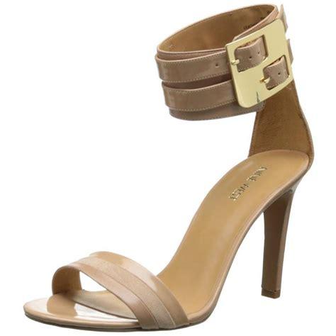 nine west high heel sandals nine west estrilada beige leather high heel dress strappy