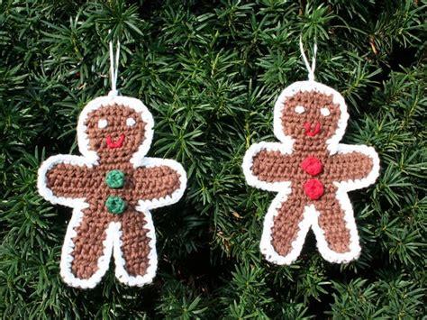 crochet pattern gingerbread man gingerbread man ornament crochet pattern
