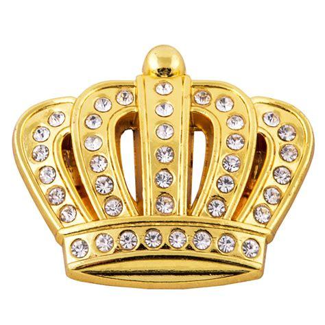 toyota crown badge car side gold metal rhinestone crown emblem badge sticker