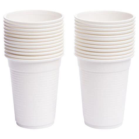 Plastik Paper Cup Es plastic cups white pack of 24 kmart