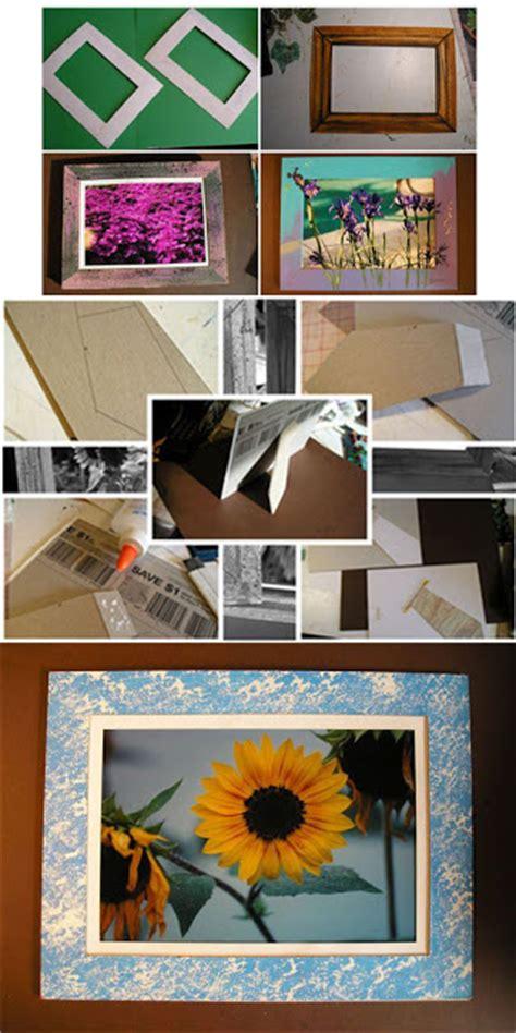 membuat rak buku daur ulang cara mudah membuat bingkai foto figura bahan bekas cara