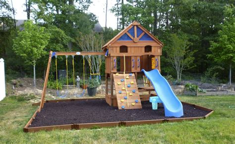 Small Backyard Playground Ideas Backyard Playgrounds Sets The Home Decor Ideas