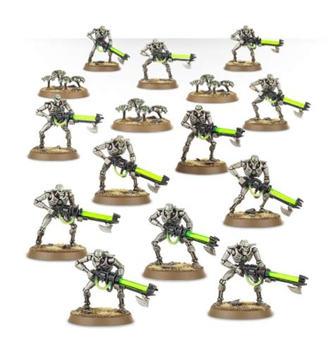 painting necrons workshop workshop warhammer 40k necron warriors figures