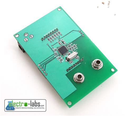 diy capacitor meter diy capacitance meter labs