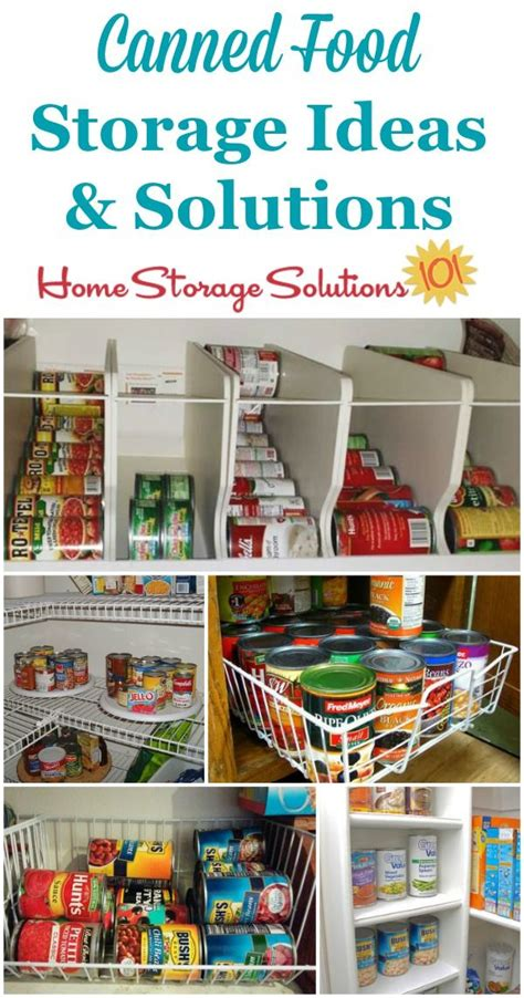best 25 canned food storage ideas on