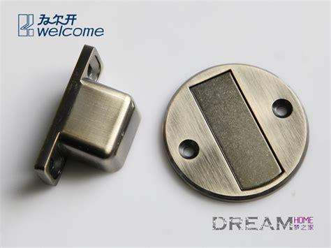 Closet Door Stopper by 1 Pc Magnetic Door Stop Installed On Floor Door Stopper
