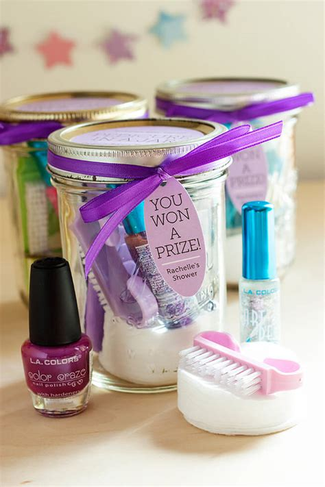 easy to make bridal shower favors matching the prizes for baby shower ideas baby