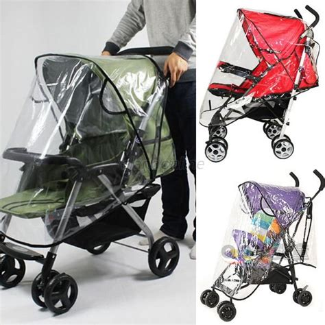 Ultima Raincover For Your Stroller plastic cover for baby carriage stroller to protect child from wind e35 ebay