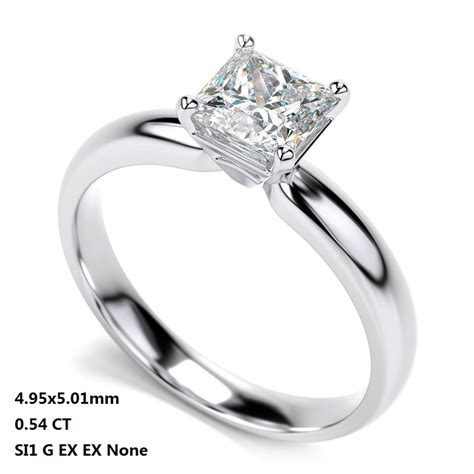 for sale white gold princess cut engagement rings white
