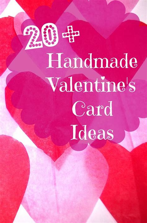 valentines card ideas 20 handmade s day card ideas