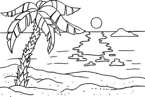 hard beach coloring pages beach coloring pages getcoloringpages com