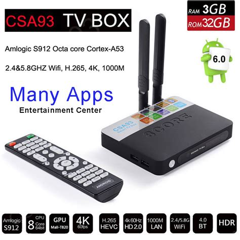 Update Android Ram 2gb aliexpress buy 3gb ram 32gb rom android 6 0 tv box 2gb 16gb amlogic s912 octa csa93