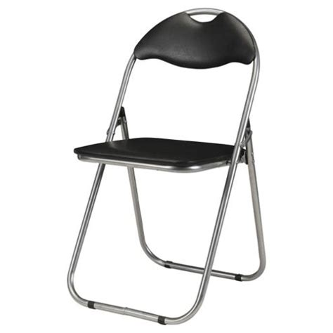 buy collin folding chair black from our office chairs