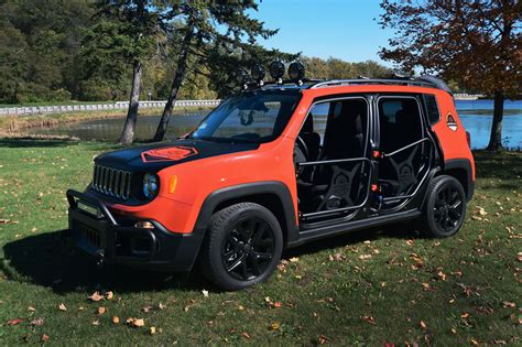 jeep accessories sema sneak peek jeep renegade accessories motor