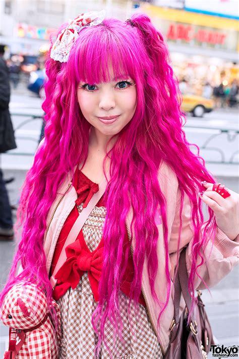 hair pink pink hair pink house teddy vivienne westwood in