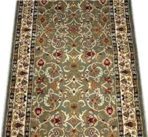 rug runner by the foot dean classic keshan green carpet rug runner sold by the foot traditional rugs by