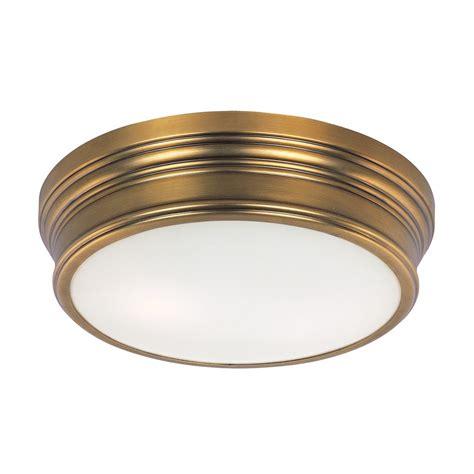 Nautical Ceiling Light Maxim Lighting Fairmont Aged Brass Flushmount Light 22370swnab Destination Lighting