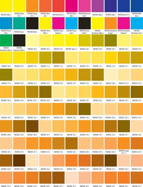 printable color graphs 5 printable pantone color charts for word and pdf