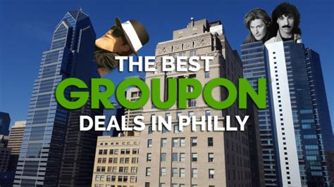 best groupon deals 10 of the best groupon deals in philly right now