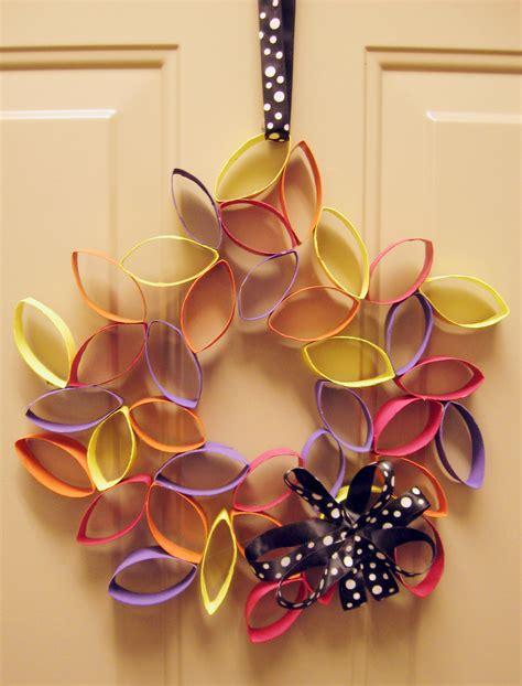 diy wreath diy cardboard flower wreath make something mondays