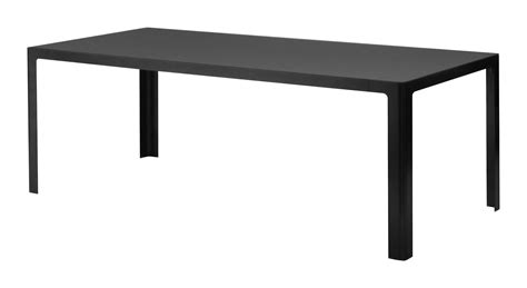 Rectangular Table L Metisse Table Rectangular L 200 Cm Anthracite Grey Top Gunmetal Frame By Zeus