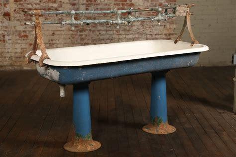 vintage antique pedestal sink vintage industrial double pedestal sink at 1stdibs