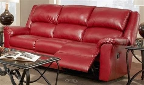 top  red leather reclining sofas  loveseats sofa ideas