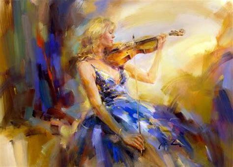 imagenes artisticas de violines im 225 genes arte pinturas cuadros musicales con mujeres