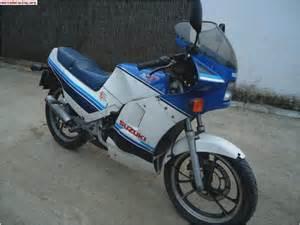 Suzuki Rg Gamma 125 Suzuki Rg125 Gamma Year By Year Motorcycles Catalog