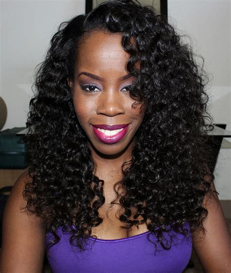 curly black hair sew in wavy sew in hairstyles for black women short hairstyle 2013