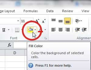 color fill how do you fill a cell with color in excel solve your tech