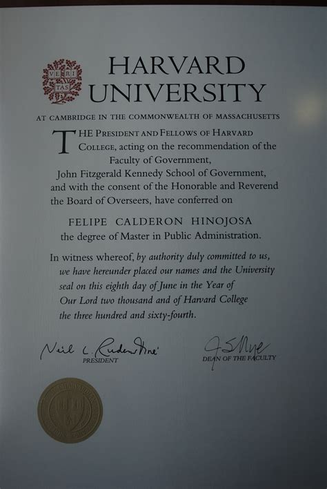 Harvard Mba Certificates by Master Of Administration Wikiwand