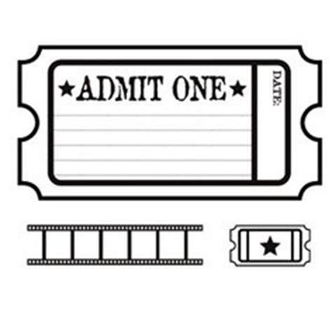 admit one movie ticket template clipart best