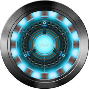 Marvel Superhero Wall Stickers quot arc reactor quot stickers by luigiunicorn redbubble