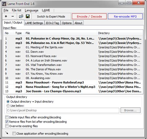 mp3 converter lame download lame front end free mp3 converter convert wav to mp3