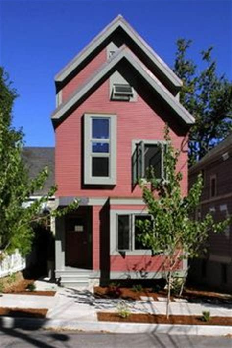 narrow home design portland 1000 images about skinny house design on pinterest